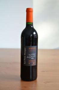 Vin rouge des Freres Bousquet Minervois, millésime 2010