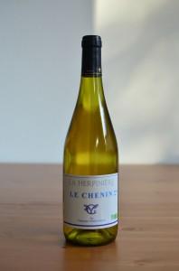 Photo du Vin Herpinière blanc demi-sec 2013