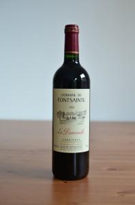 Vin rouge du Domaine de Fontsainte cuvée La Demoiselle en millésime 2009