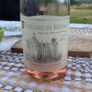Vin rosé Chateau Brissac Cabernet d'Anjou 2013