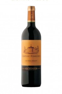 Photo du vin rouge Chateau Fonreaud Listrac Medoc Cru Bourgeois 2006