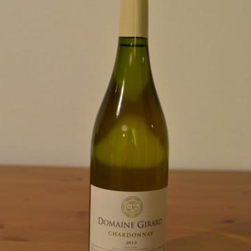 Domaine Girard Chardonnay blanc 2013 Pays d'Oc