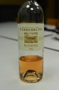 Vin du Domaine de Terre Brune Bandol Rosé 2012