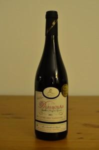 Vin de la cuvée Antoine du domaine des Cretes - Beaujolais 2013