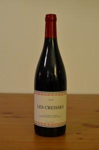 Vin du Domaine des Creisses 2012 - Pays d'Oc