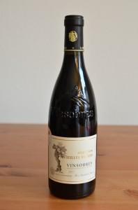 Vin  Vinsobres vieilles vignes 2011 de la coopérative La Vinsobraise