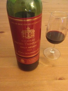 Vin rouge du Château Larose Trintaudon 2012 Haut Medoc