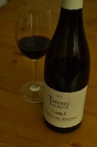 Vin de Laurent Tardieu Cotes-du-Rhône Grandes Bastides 2013
